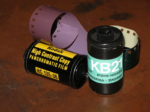 Photo: Old 35mm film from the late 60s