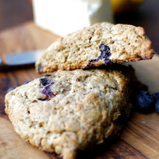 Whole Grain Blueberry-Orange Scones.