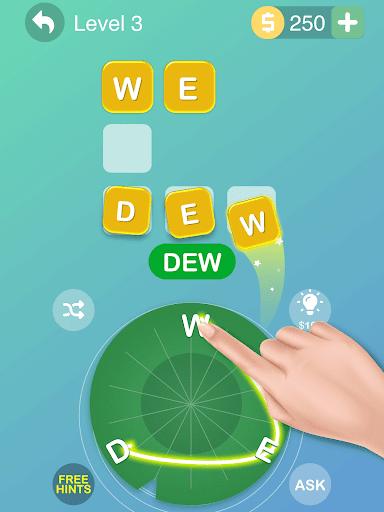 Word Flower - Connect Cross Word Game screenshot 9