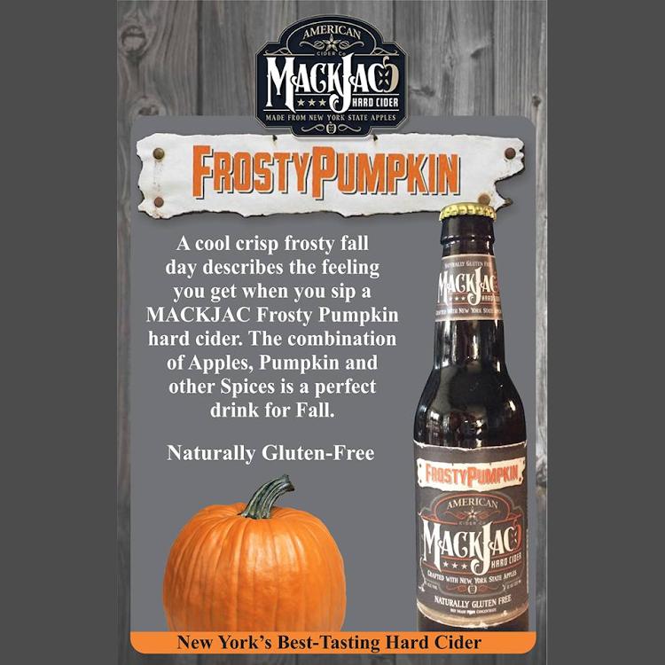 Logo of Mackjac Hard Cider Frosty Pumpkin