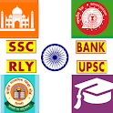 SSC Bank PO Railway and Police icon