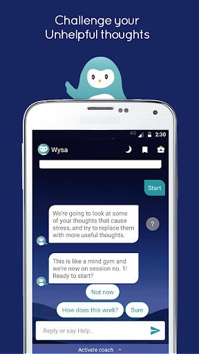 Wysa - your happiness buddy  screenshots 5