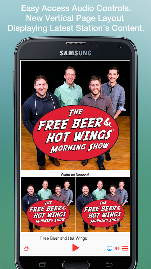 Free Beer and Hot Wings Show- screenshot