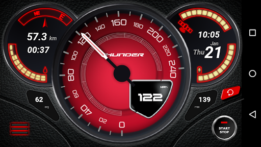 GPS Speedometer (No Ads) screenshot 3