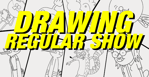 drawing regular show