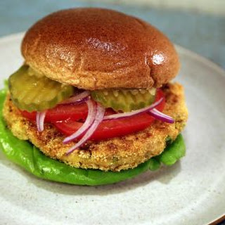 Chickpea Burgers.