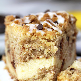 Cheesecake Banana Bread Crumb Cake.