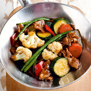 Chinese-style Vegetable Stir-Fry