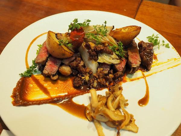 創新料理口味細緻 請客絕不漏氣的-大嗑西式餐館Ducky Restaurant