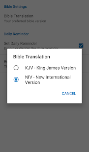 Daily Bible Verse- screenshot thumbnail
