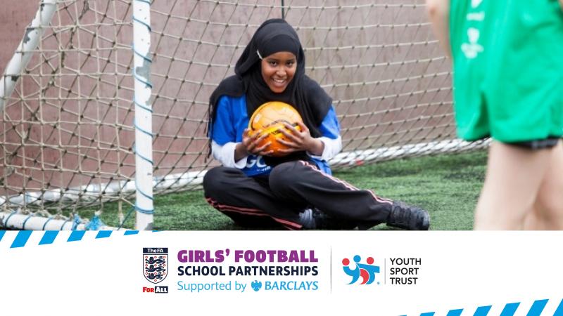 The Barclays Girl's Football School Partnership - https://www.youthsporttrust.org/FA-partnerships