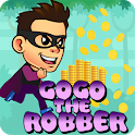 Gogo The Robber : Math Puzzle Game icon
