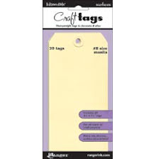 Ranger Inkssentials Manila Craft Tags 20/Pkg - No 8