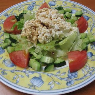 Tofu Salad.