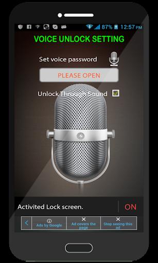 Voice Lock Free