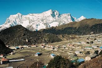 Photo: wir erreichen Khumjung