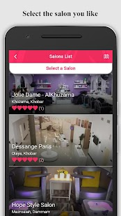 Venus - Beauty Salons Booking- screenshot thumbnail