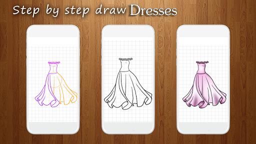 How to Draw Dresses 1.1 screenshots 4
