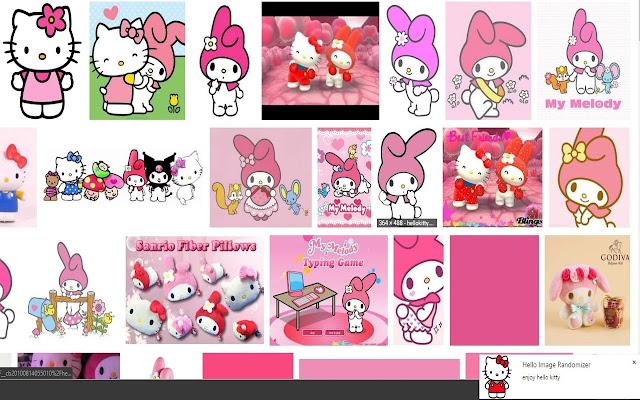Hello Kitty Image Randomizer