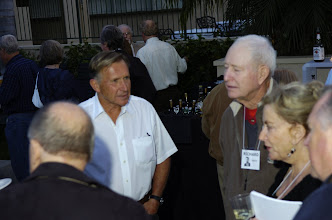 Photo: Bill Dickey, Richard Leach, Peggy Tremayne