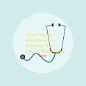 Health Maintain cardio recordings,E numbers,Calcs icon
