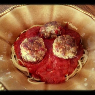 Pepperoni and Parmesan Meatballs