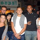 my friends at Rickies in Miami in Miami, Florida, United States