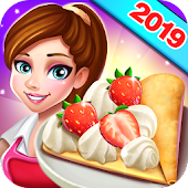 Rising Super Chef 2: Craze Restaurant Cooking Game icon