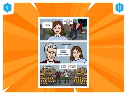 Doctor Who: Comic Creator- screenshot thumbnail