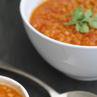 Red Lentil Soup With Garam Masala Recipes