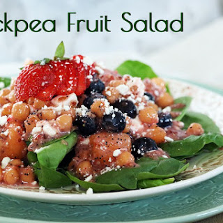 Chickpea Fruit Salad