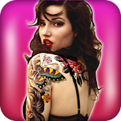 Tattoo Photo Editor for Girls