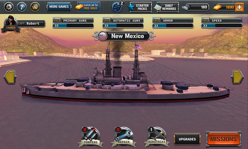 Ships of Battle : The Pacific Screenshot 1