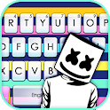 Colorful Night Dj Keyboard Theme icon