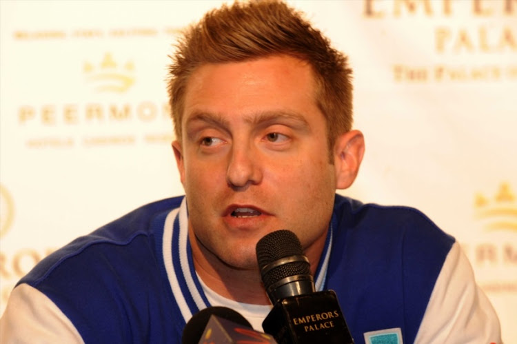 Colin Nathan during the Blockbuster Boxing Tournament press conference at Emperors Palace on July 19, 2011 in Pretoria.