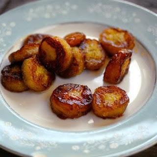 Fried bananas (Fruit snack)