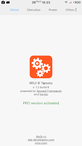 MIUI Tweaks PRO Activator screenshot 1