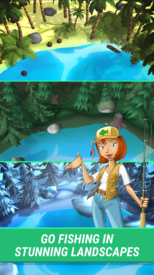 Fishalot - free fishing game 🎣- screenshot