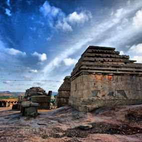 Hampi by Narayna Gopi - Buildings & Architecture Statues & Monuments