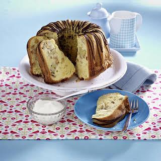Banana and Almond Bundt Cake.