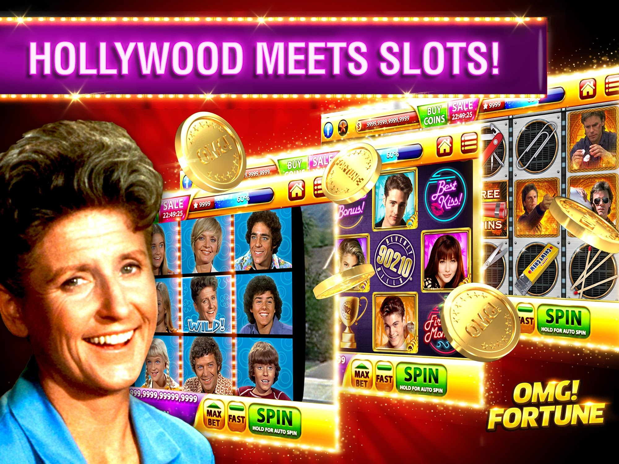 OMG! Fortune Free Slots Casino screenshot #8