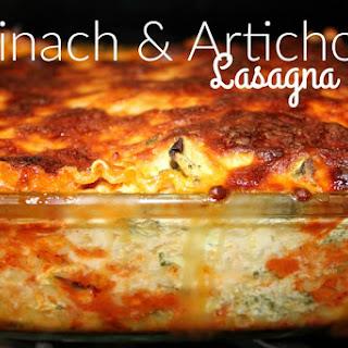 ~Spinach & Artichoke Lasagna..VIVA Bertolli!