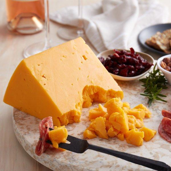 Extra Sharp Cheddar Cheese Wheel by York Valley Cheese Company