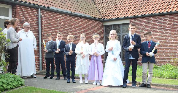 Erstkommuniongottesdienst in Buer 29.04.2018