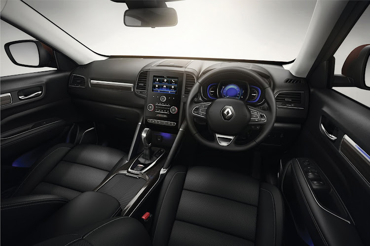 The interior is home to many standard features.