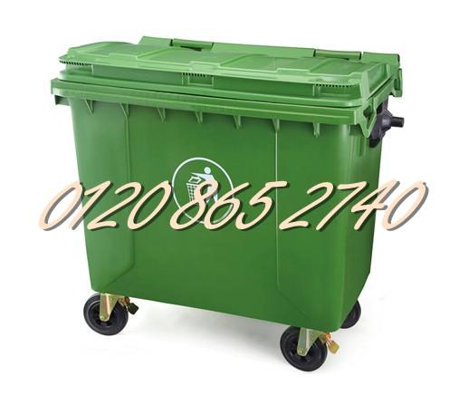 Thùng rác 660L, xe gom rác 660L, xe đẩy rác 660L, thùng rác 660L giá siêu rẻ - www.thungrac,info - 01208652740 Huyền - www.TAICHINH2A.COM
