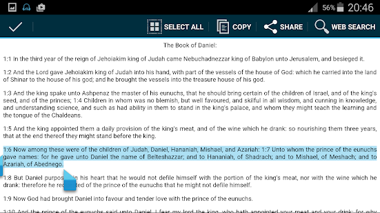 King James Bible audio- screenshot thumbnail