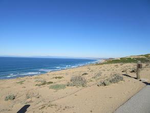 Photo: The dunes overlooking the Monterey Bay