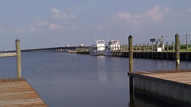 Photo: Alligator River Marina looking east towards the Alligator River. Duh.