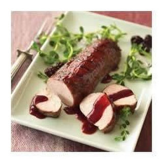 Blackberry Barbecued Pork Tenderloin